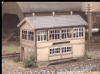 Ratio 223 GWR Wooden Signal Box (inc. interior)